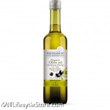 BIO PLANETE Organic Extra Virgin Olive Oil - Medium Fruity