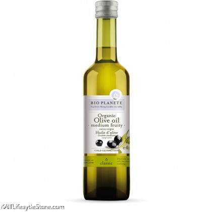 BIO PLANETE Organic Extra Virgin Olive Oil - Medium Fruity