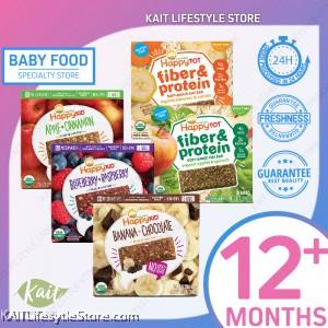 HAPPYBABY Fiber & Protein / Fruit Oat Bar (5 Bars)