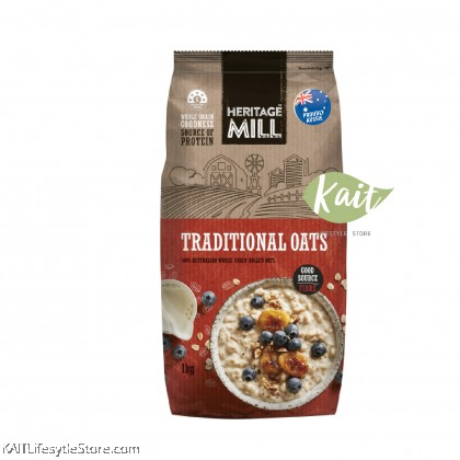 FREEDOM FOODS Heritage Mill Quick & Traditional Oat (1kg)