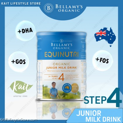 BELLAMY'S ORGANIC: Step 4 Junior Milk Drink (900gm)