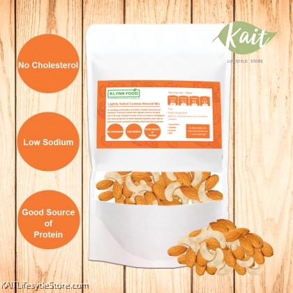 KLYNNFOOD Roasted Nuts Cashew & Almond -  Lightly Salted