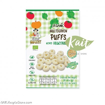 UNCLE MARK Organic Multigrain Puffs (20g)