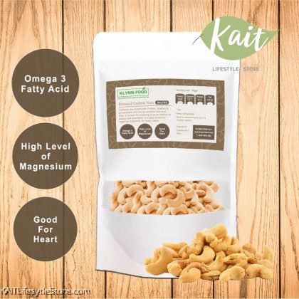 KLYNNFOOD Roasted Nuts Cashew- Unsalted
