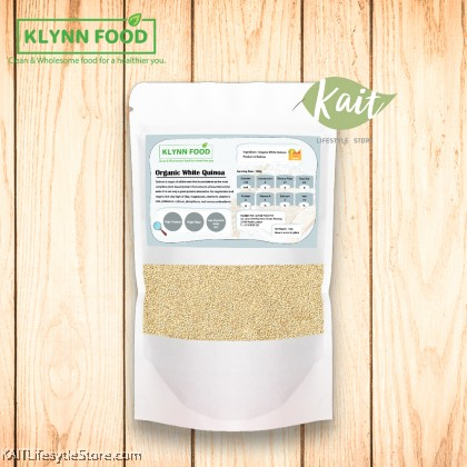 KLYNNFOOD Organic White Quinoa (150gm)