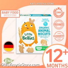 LITTLE BELLIES: Animal Biscuits (100g)