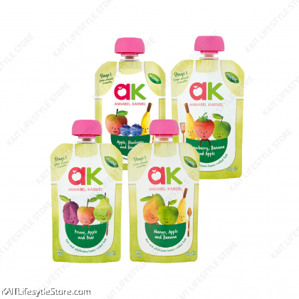 ANNABEL KARMEL Stage 1 Organic Fruit Purees (100g) [6month]