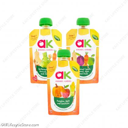 ANNABEL KARMEL Stage 1 Organic Vegetable Purees (100g) [6month]