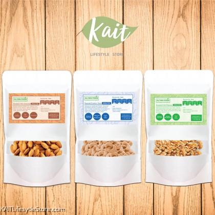 KLYNNFOOD Bulk Unsalted Roasted Nuts- 500g/1kg