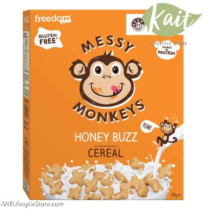 MESSY MONKEYS Gluten Free Cereal (220g / 240g)