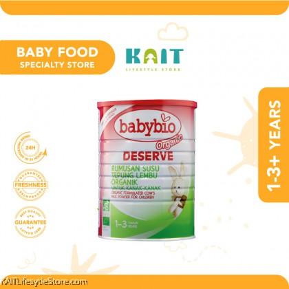 BABYBIO Deserve Cow's Milk 1-3Yrs (900g)