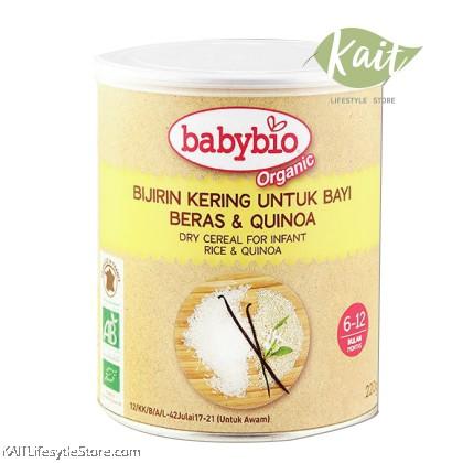 BABYBIO Rice Quinoa Cereal (220g)