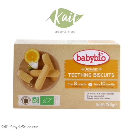 BABYBIO Teething Biscuit (120g)