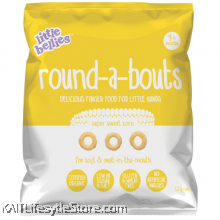 LITTLE BELLIES: Round-A-Bouts Sweet Corn (12g)