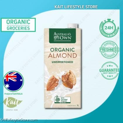 AUSTRALIA'S OWN Organic Unsweetened Almond Milk (1L)
