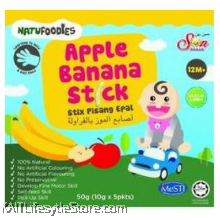 NATUFOODIES: Apple Banana Stick (50g)
