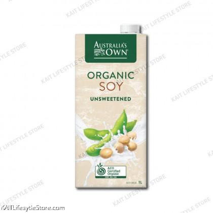 AUSTRALIA'S OWN Organic Unsweetened Soy Milk (1L)