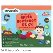 NATUFOODIES: Apple Beetroot Stick (50g)