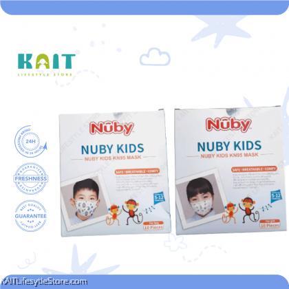 NUBY 4-Ply 3D Kids Mask (10 Pcs)