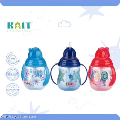 NUBY Designer Pinpoint 2 Handle Trainer Cup [4~12m+]