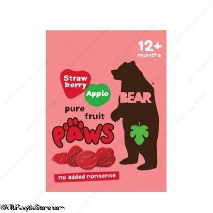 BEAR PAWS Pure Fruit Paws (5 x 20g)
