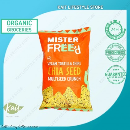 MISTER FREED Tortilla Chips With Chia Seed (135g)