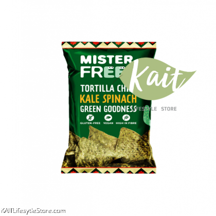 MISTER FREED Tortilla Chips With Kale Spinach (135g)