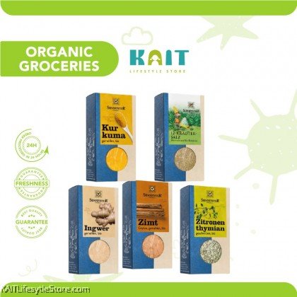 SONNENTOR Organic Spices (25g ~ 120g)
