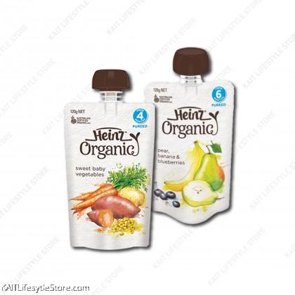 HEINZ Organic Baby Puree Pouch (120g) [4m+]