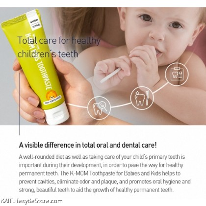 K-MOM Baby & Kids Toothpaste (30g & 50g)