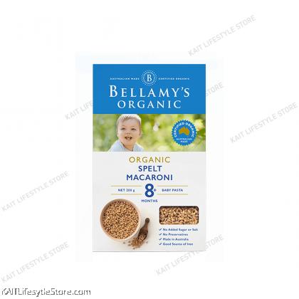 BELLAMY'S ORGANIC: Baby Spelt Macaroni