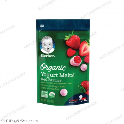 Gerber Organic Yogurt Melts 1oz (8+ months Crawler)