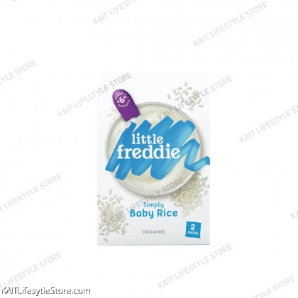 LITTLE FREDDIE Organic Baby Cereal (2x80g) [6m+]