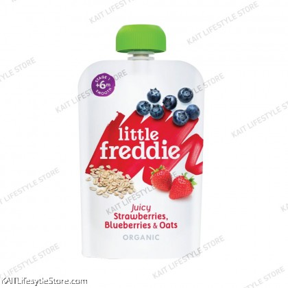 LITTLE FREDDIE Organic Wholesome Pouches (100g) [6months]