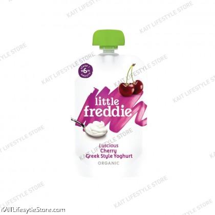 LITTLE FREDDIE Organic Greek Yogurt Pouches (100g) [6months]