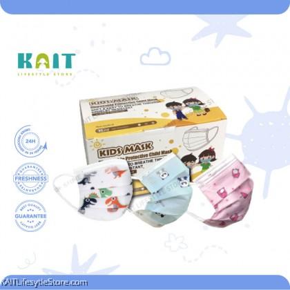 KAIT Disposable Protective 3Ply Kids Mask (50pcs)