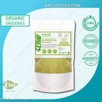 KLYNNFOOD Organic Premium Moringa Leave Powder 200g