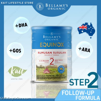 BELLAMY'S ORGANIC: Step 2 Follow-On Formula (900gm) [New Formula]