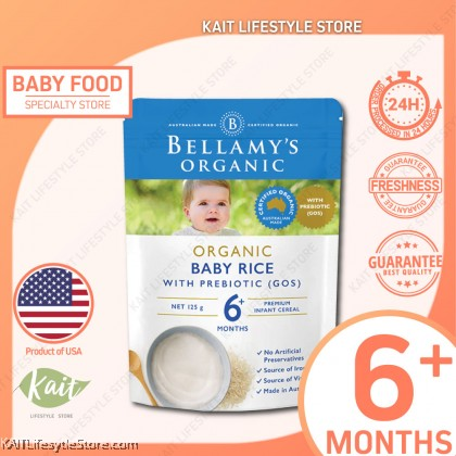 BELLAMY'S ORGANIC: Baby Rice