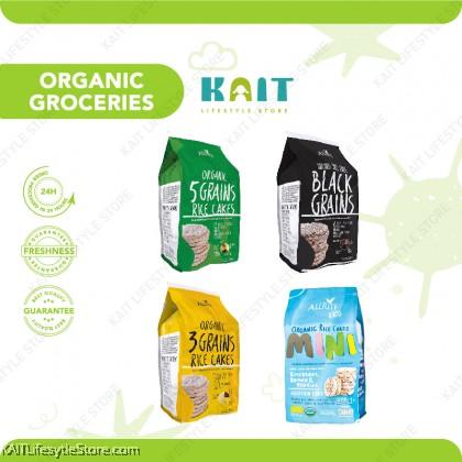 ALL RITE Organic Rice Cracker 30-80g
