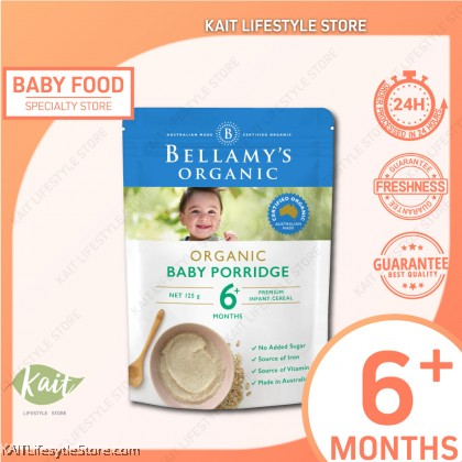 BELLAMY'S ORGANIC: Baby Porridge (125g) [5 months+]