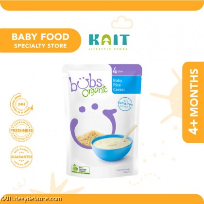 BUBS Organic Baby Cereal 125g (6m+) [HALAL]