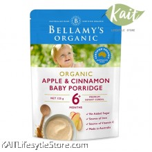 BELLAMY'S ORGANIC: Apple & Cinnamon Porridge