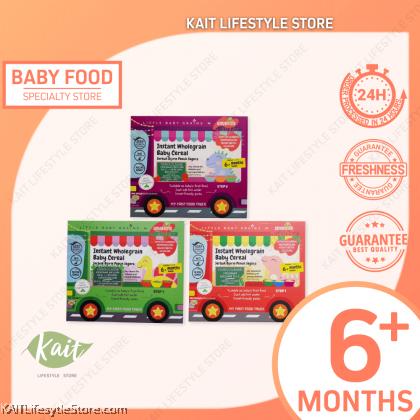 LITTLE BABY GRAIN Premium Brown Rice Instant Cereal 15gx5 (6m+)
