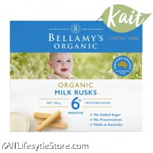 BELLAMY'S ORGANIC: Toothiepegs Milk Rusks