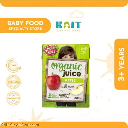 WHOLE KIDS Organic Apple Juice (200ml) [3 y/o+] EXP: 11/2021