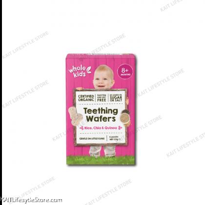 WHOLE KIDS Organic Teething Wafer (20g) [8m+]