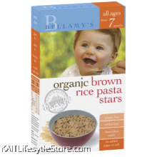 BELLAMY'S ORGANIC: Brown Rice Pasta Stars