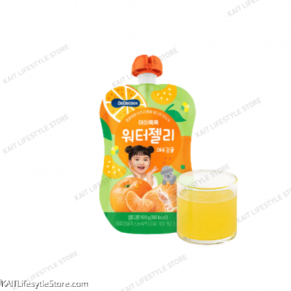 BEBECOOK Very First Water Jelly Drink (100g) [12m+]