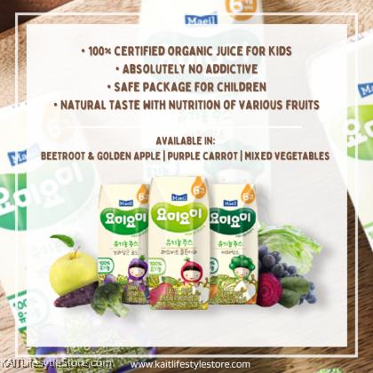 MAEIL Yomi Yomi Organic Fruits & Vegetables Juice (125ml) 6m+